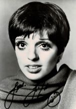 Liza Minnelli Autograph Photo Signed